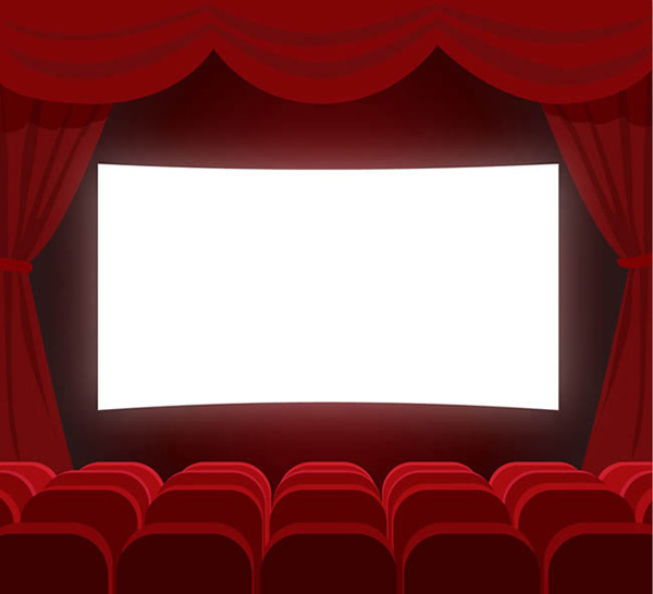 0 点 关键词: 电影院放映厅矢量图下载,观众席,帷幔,电影,电影院