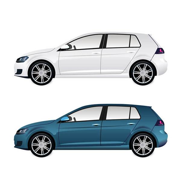 素材分类: 矢量交通所需点数: 0 点 关键词: 时尚汽车侧面图矢量图
