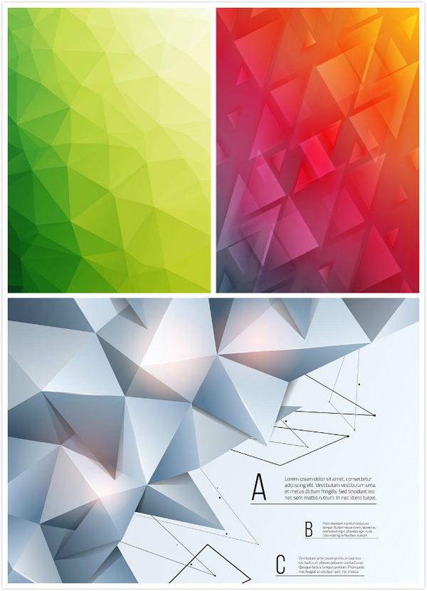 三角拼接背景矢量素材,创意背景,三角拼接背景,抽象几何背景,几何体