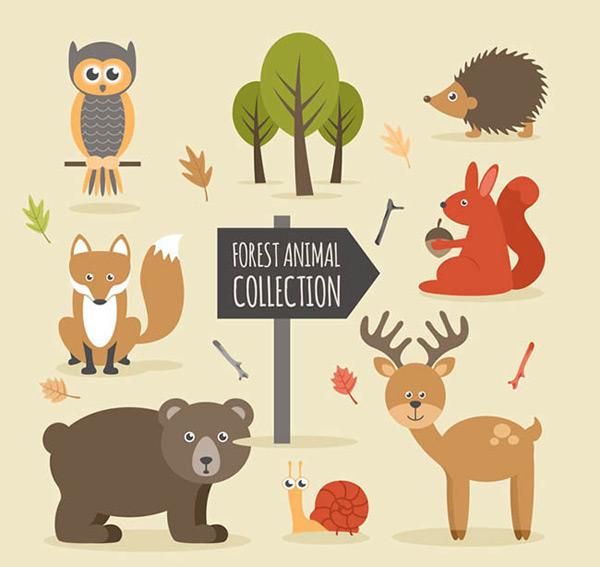 森林里没有树木动物怎么办