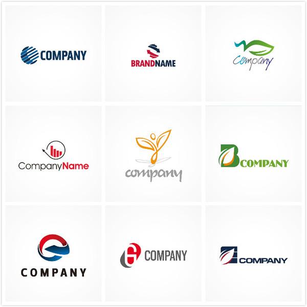 变形字母glogo,圆形logo,logo设计,公司logo,创意logo,抽象树叶,树叶