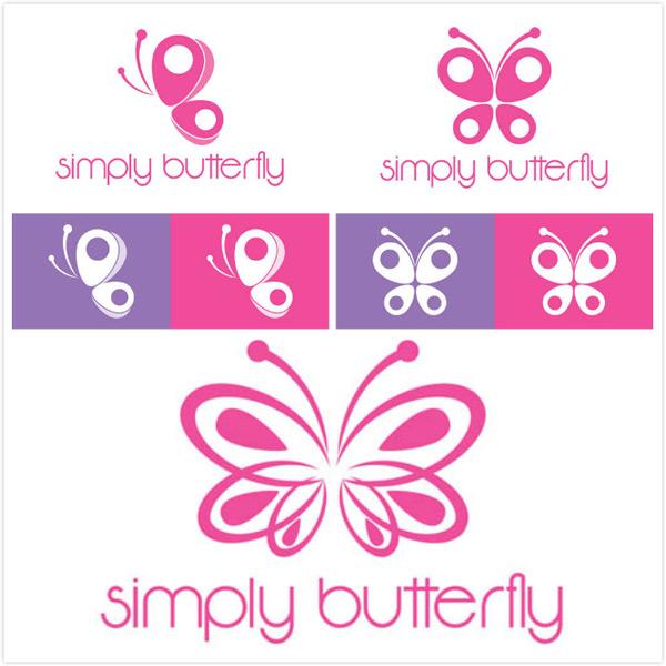 矢量图,设计素材,创意设计,标志设计,logo设计,蝴蝶,粉蝶,图案,eps
