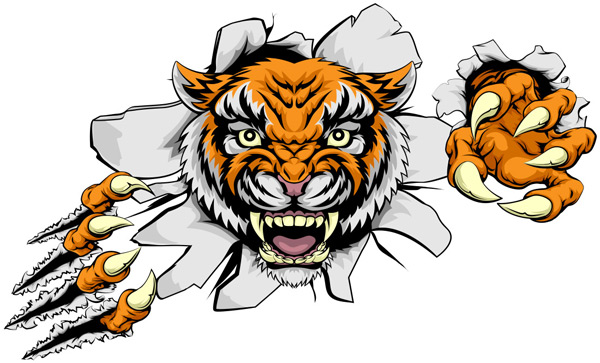 点 关键词: 老虎车贴矢量素材,虎头素材,动物插画,车贴设计,纹身图案