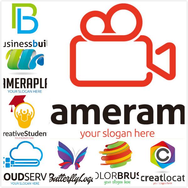 logo设计矢量素材,创意字母,创意logo,对外形象,vi设计,公司标志图片