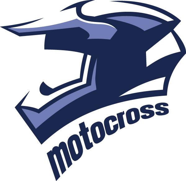 素材分类: 矢量logo图形所需点数: 0 点 关键词: 蓝色摩托车头盔logo