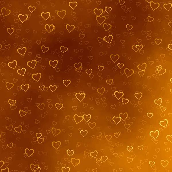 爱心光晕咖啡色背景矢量素材,带爱心的背景图片,爱心光晕,光晕矢量图