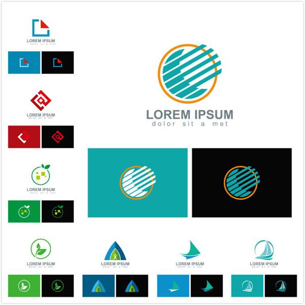 名片logo,公司logo,工作室logo,企业logo,logo素材,创意logo,矢量素