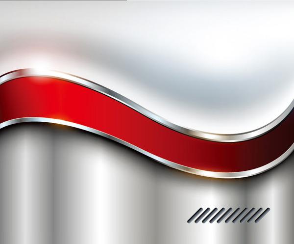 銀色背景,紅色鑲邊線條,質感背景,大氣,時尚,純色背景,創意背景,矢量
