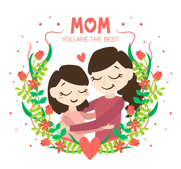 0 点 关键词: 母亲节贺卡矢量素材,母亲节贺卡,母亲节矢量图,卡通