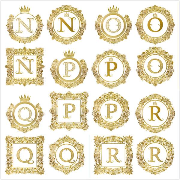 0 点 关键词: 欧式大气奢华花纹边框字母矢量素材,圆形边框,方形边框