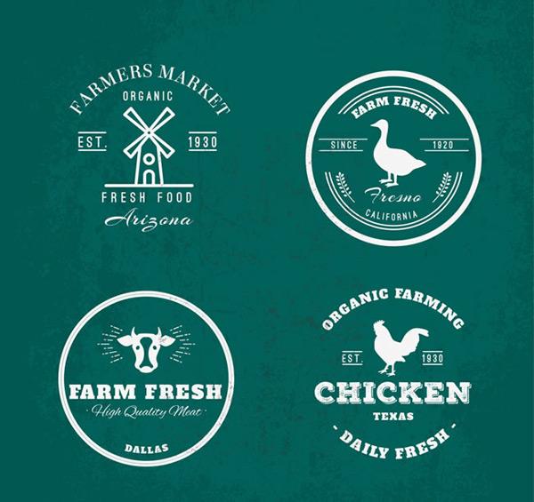 农场元素标志