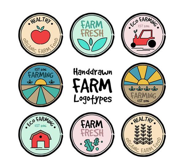 0 点 关键词: 手绘农场标志矢量素材下载,农场标志,手绘标志,苹果