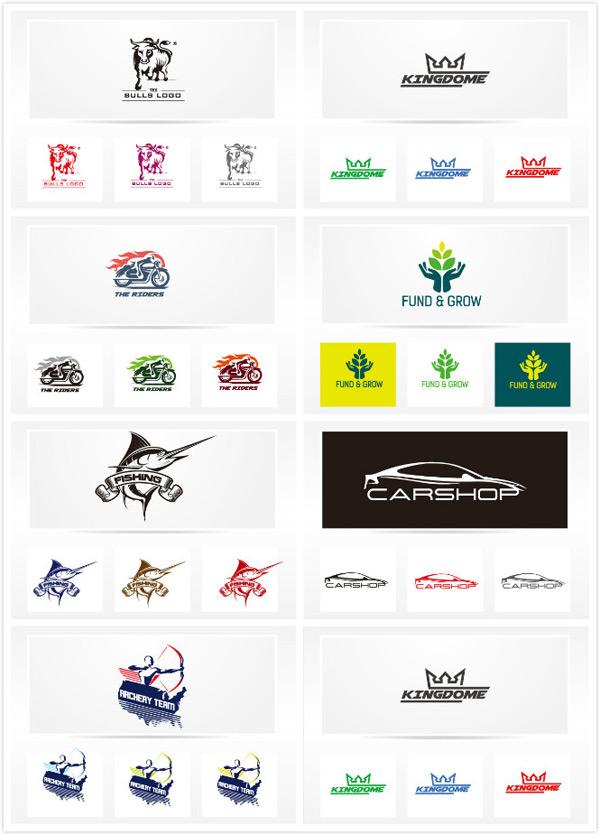 素材分类: 矢量logo图形所需点数: 0 点 关键词: logo矢量素材,彩色