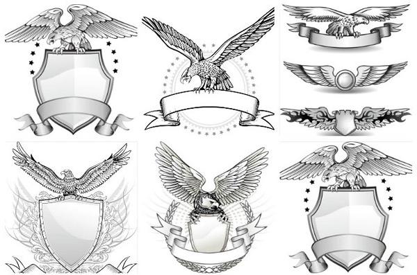 0 点 关键词: 手绘线条老鹰徽章矢量素材,雄鹰,手绘雄鹰,雄鹰边框