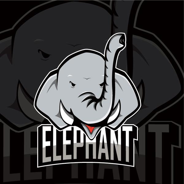 素材分类: 矢量logo图形所需点数: 0 点 关键词: 大象图案矢量素材
