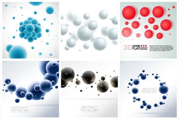 3D圆球矢量