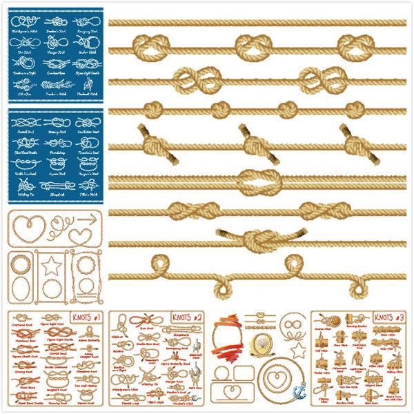 绳子矢量素材