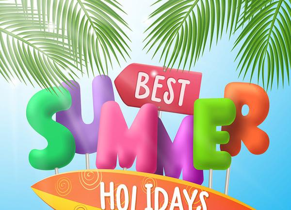 海洋夏季旅游海报