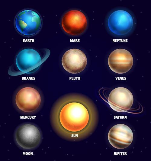 彩铅手绘行星图教程