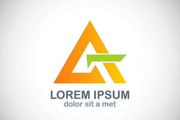 黄色logo,简洁logo,抽象logo,个性logo,标志图形,logo设计,创意logo