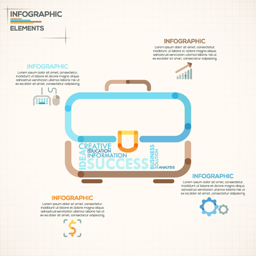 素材分类: 矢量商务金融所需点数: 0 点 关键词: 商务公文包样式信息