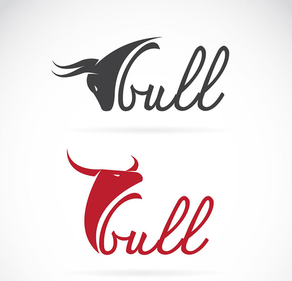 其它所需点数: 0 点 关键词: 两款牛头字母logo矢量素材,牛头logo