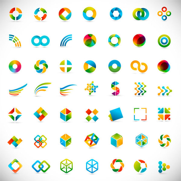 几何形状抽象符号