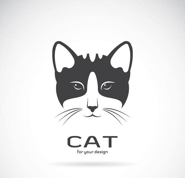 貓咪logo矢量素材,貓咪logo,動物logo,品牌logo,創意logo,logo設計
