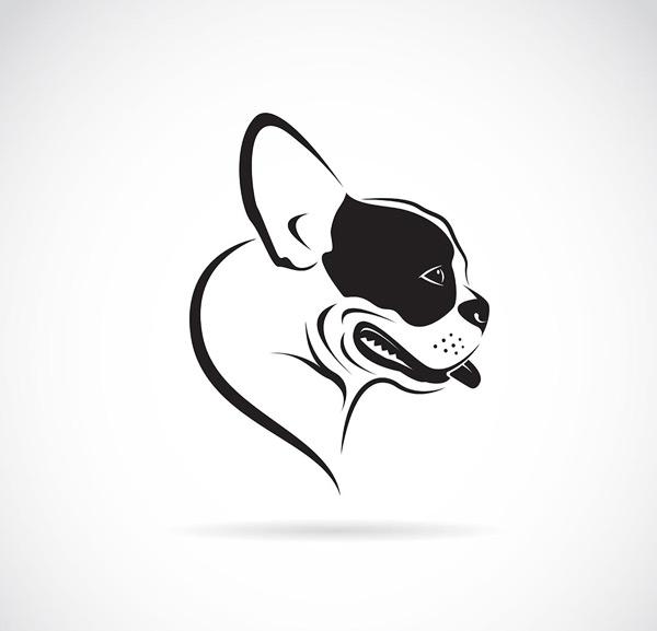 0 点 关键词: 狗狗logo矢量素材,狗狗logo,宠物logo,动物logo,创意