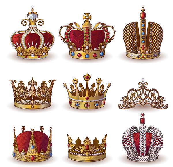 皇冠,金色皇冠,皇冠图案,立体王冠,皇室象征,钻石皇冠,皇冠设计,饰品