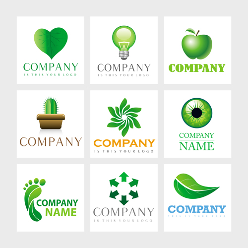 logo设计,抽象,几何,图形,立体,3d,叶子,绿叶,树叶,灯泡,苹果,仙人掌