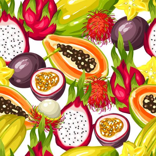 四方连续,无缝背景,平铺图案,平铺背景,水果背景,水果图案,火龙果图片