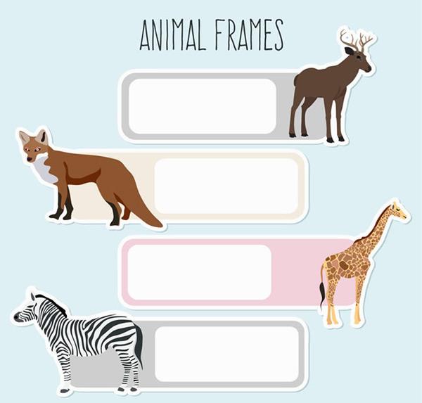 野生动物框架