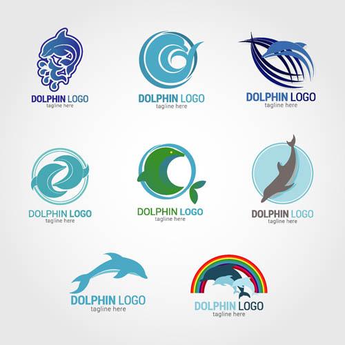 矢量素材,矢量图,设计素材,创意设计,动物,标志,logo,图标,海豚,ai