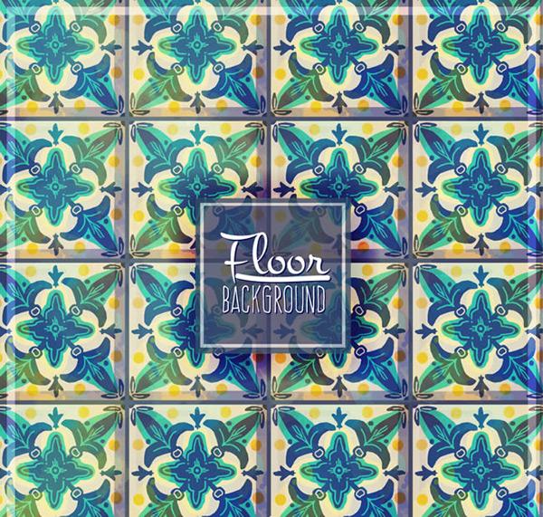 0 点 关键词: 彩色花纹地砖背景矢量素材,彩色花纹背景图片,地砖花纹