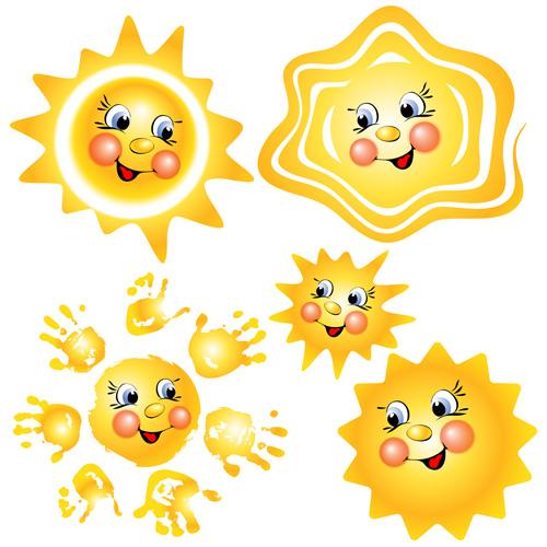 卡通太阳矢量素材下载,矢量素材,矢量图,设计素材,卡通,可爱,太阳