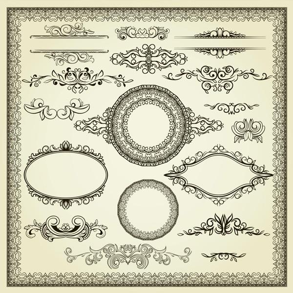 花纹边框,创意花纹,图形边框,欧式花纹,花纹背景,时尚花纹,复古花纹