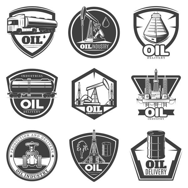 素材分类: 其它所需点数: 0 点 关键词: 多款欧式复古黑白工业油图标