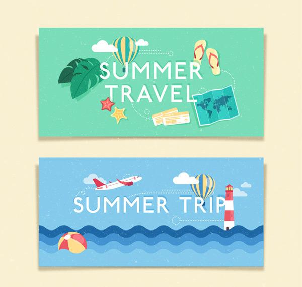 夏季旅游banner
