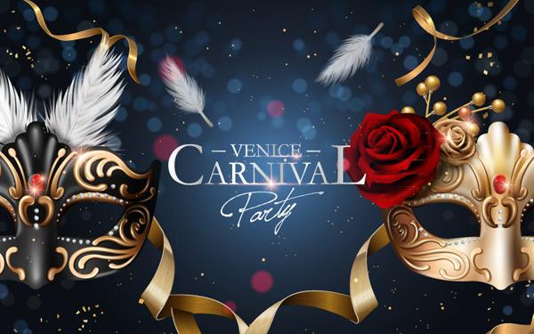 0 点 关键词: 面具派对海报设计矢量素材,羽毛,玫瑰花,狂欢,派对,面具