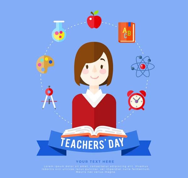 教师节日贺卡_素材中国sccnn.com