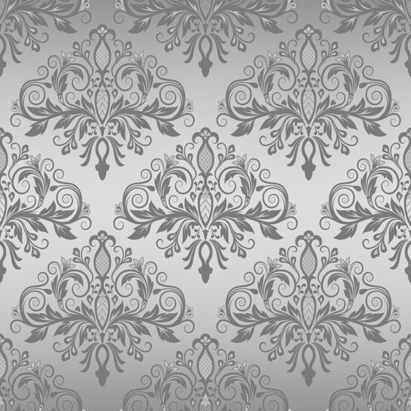 灰色花纹,无缝背景,卷边花纹,植物花纹,高档背景,墙纸,壁纸,欧式花纹