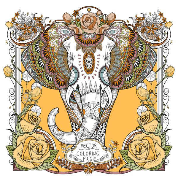 0 点 关键词: 抽象大象手绘装饰画,大象,抽象,动物,手绘,装饰,画