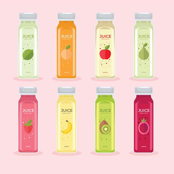 瓶装美味果汁