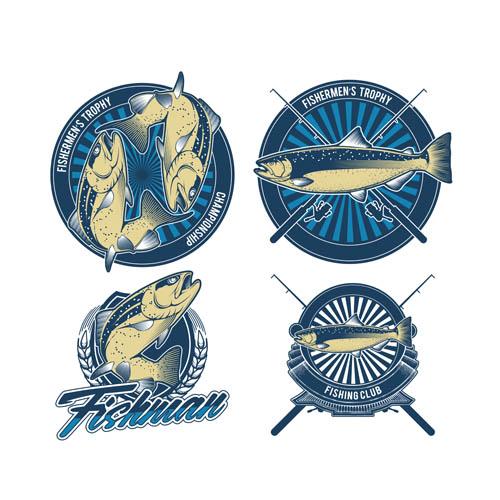 钓鱼俱乐部标志