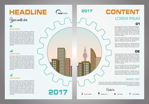建筑元素画册封面