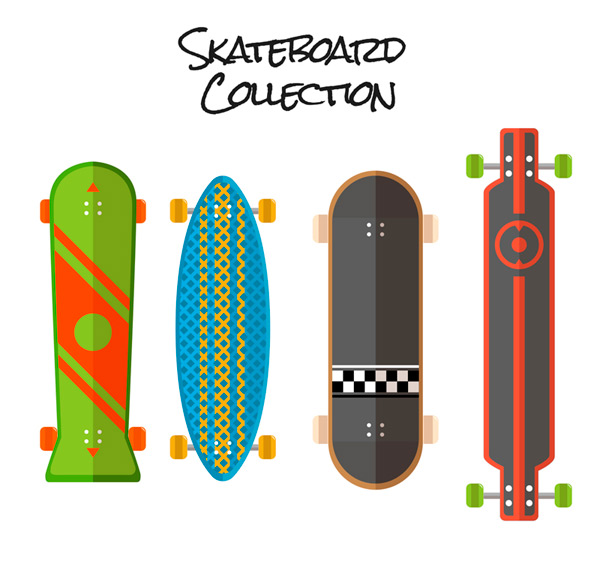 4款时尚滑板