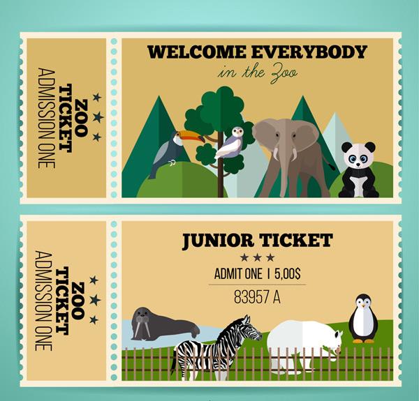 动物园单人门票