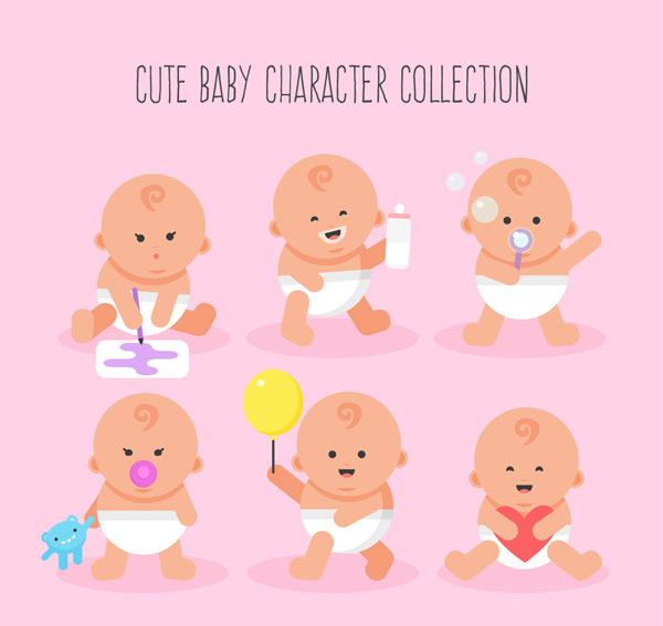 可爱婴儿设计