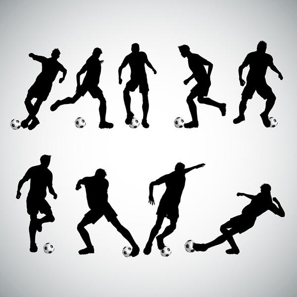 动感踢足球人物